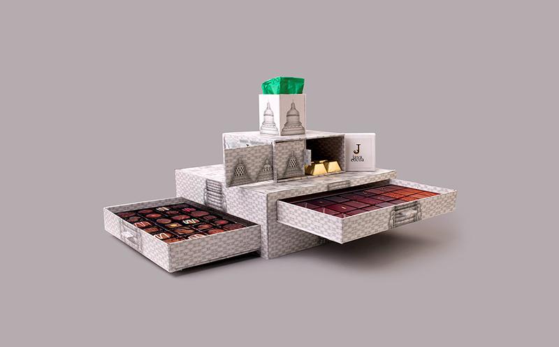 異形巧克力包裝設計,食品包裝的趣味之作